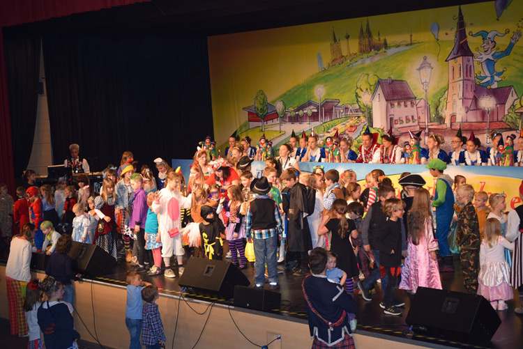 Kinderkarneval in Windhagen